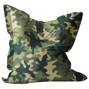 Pouf Beanbag Camouflage